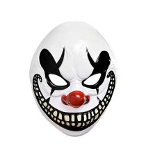 Halloween Circus Freakshow Clown Adult Mask - 3