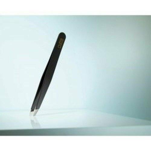 Rubis Classic Tweezers Slanted Tips Coloured - Color : Black