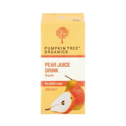 Pumpkin Tree Organic Pear Juice | 200ml x 12
