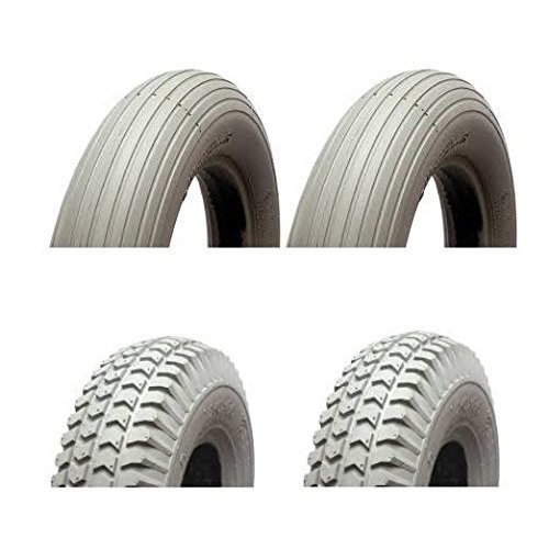 Mobility Scooter Puncture Proof Tyres – 300-4 / 260 x 85 - Solid Tyres