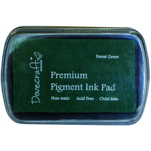 Dovecraft Pigment Ink Pad, Forest Green