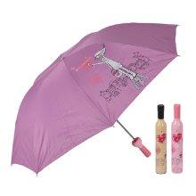 Unique Fashion Gift Bottle Shape Umbrellas Folding Umbrella PINK