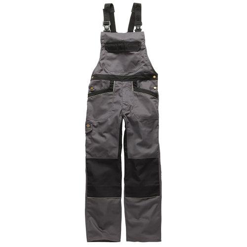 Dickies Unisex Industry 260 Bib & Brace Coveralls (Regular And Tall Leg) / Workwear (Pack of 2)
