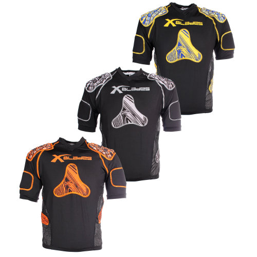 X Blades Wild Thing Kids Junior Rugby Body Protection Shoulder Pads