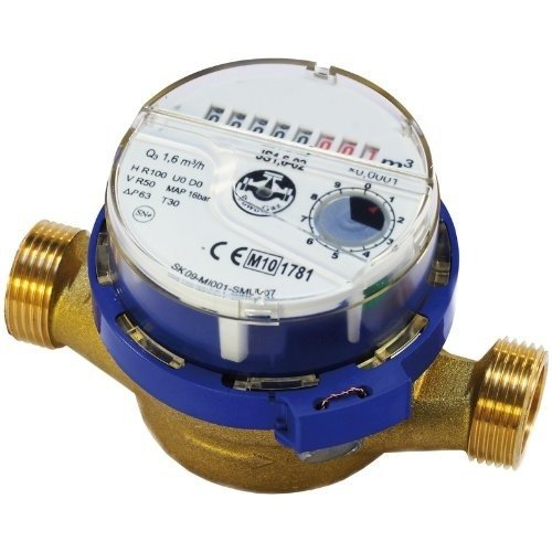 High Quality Water Meter Flow, Cold Water 1inch 3/4inch 15mm 1/2inch Bsp Meters
