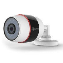 EZVIZ Wireless 1080P C3S (Wi-Fi) Outdoor Bullet Camera, 4mm Lens, 30m Night Vision, IP66, Micro SD/Cloud Storage