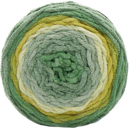 Bernat Blanket Ombre Yarn-Green Ombre