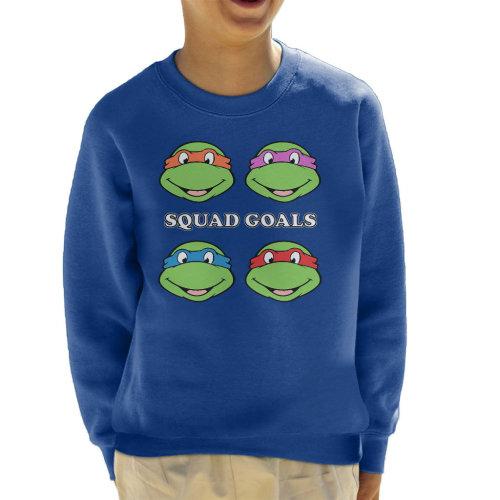 Teenage Mutant Ninja Turtles Squad Goals Kid's Sweatshirt