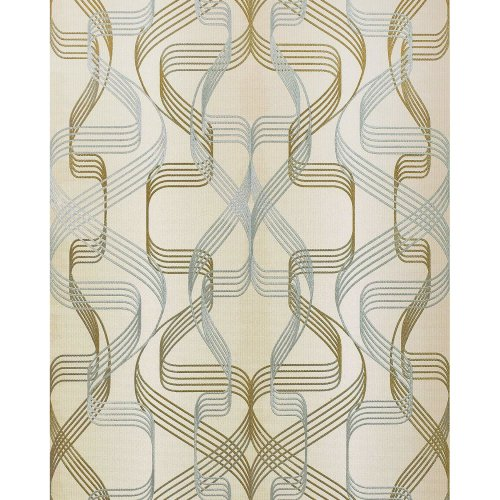 EDEM 507-23 Graphic-wallpaper metallic accents cream pearl-gold 5.33 m2 (57 ft2)