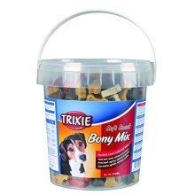 Soft Snack Bony Mix, 500 G - Mix Do Treats Trixie Trainin Chicken 500 Puppy Tub -  snack bony mix dog soft treats trixie training chicken 500g puppy