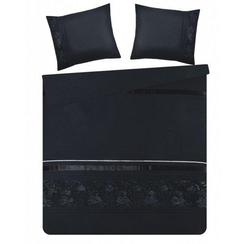 Duvet Cover Set 200 x 220 cm Black FERMO