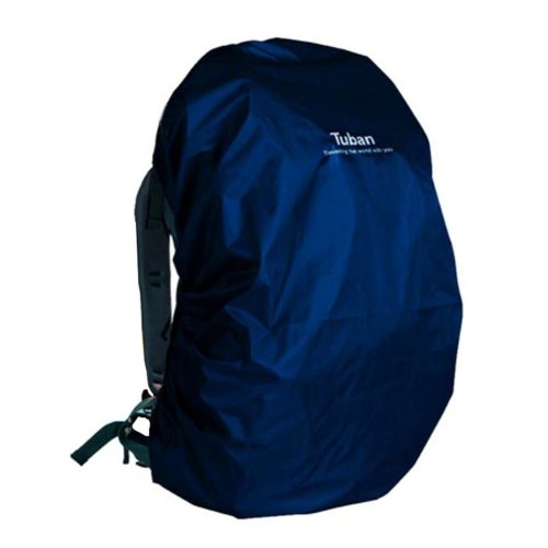 Outdoor Riding Backpack Rain Cover Waterproof Backpack Cover-55 L Deep Blue