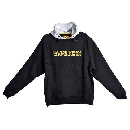 Roughneck Clothing 95-103 Black & Grey Hooded Sweatshirt 42-44in - L