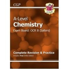New A-level Chemistry: Ocr B Year 1 & 2 Complete Revision & Practice with Online Edition