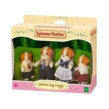 Chiffon Dog Family