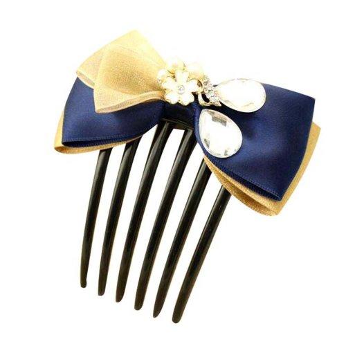 Hair Clips Set of 2 Fashion Charm Lady Hair Combs Pins Girl Hair Decorations