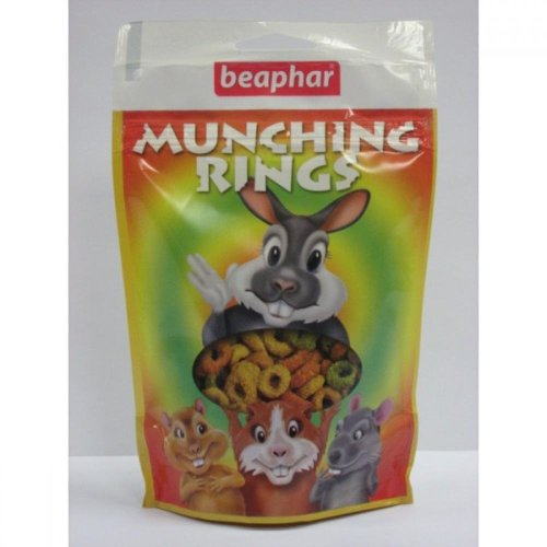 Beaphar Munching Rings Small Pet Treats (12 Packs)