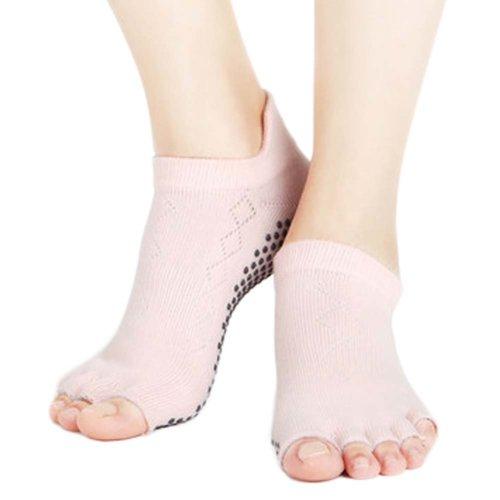 Five-finger Cotton Sports Socks Soft Non-slip New Design Yoga Socks #29