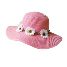 Sunscreen Large Brimmed Hat Child Children Folding Beach Hat UV Girls Summer