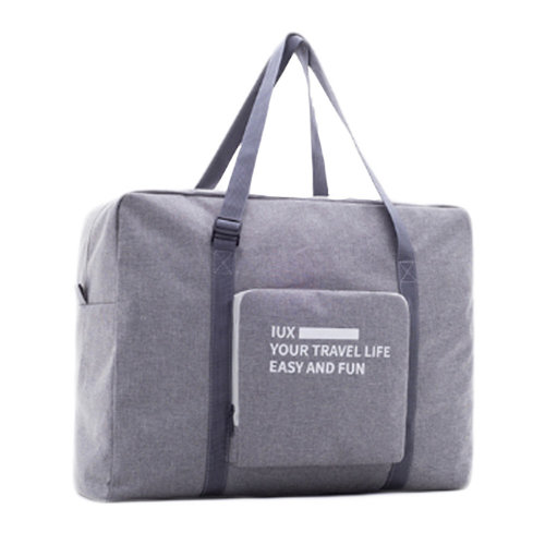 Lightweight and Foldable Luggage Bag for Sports, Gym, Vacation, Grey