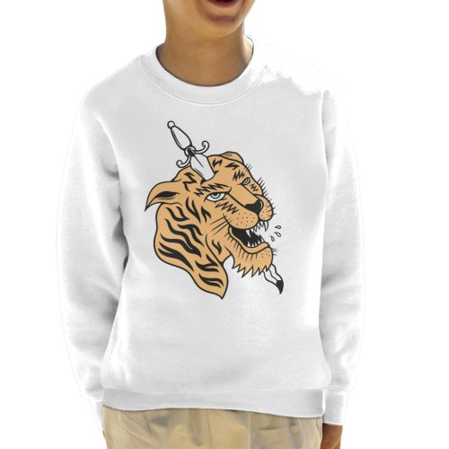 Divide & Conquer Tiger Dagger Kid's Sweatshirt