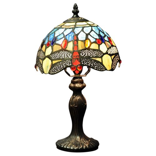 Blue Dragonfly Tiffany Lamp 8