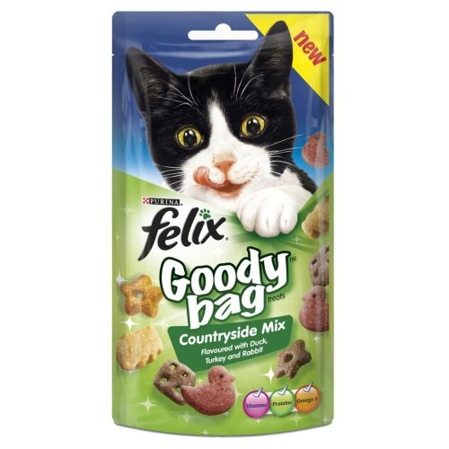 Felix Goody Bag Countryside Mix 60g (Pack of 8)