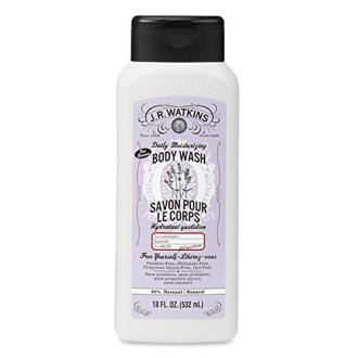 J.R.Watkins Daily Moisturizing Lavender Body Wash, 18 Ounces