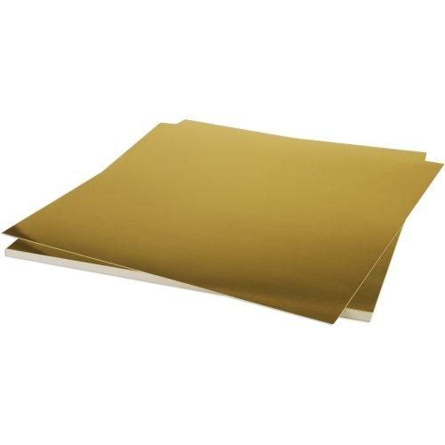 "Bazzill Foil Cardstock 12""X12""-Gold"
